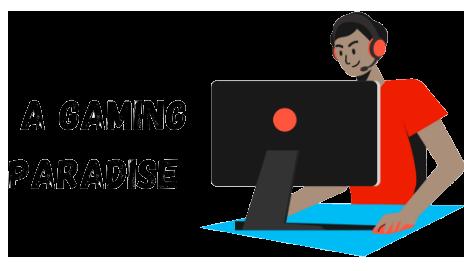 A Gaming Paradise Logo, agamingparadise.com