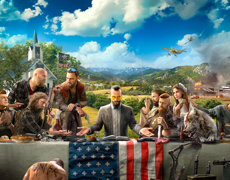 Far Cry 5 - Gold Edition (Xbox One), A Gaming Paradise, agamingparadise.com