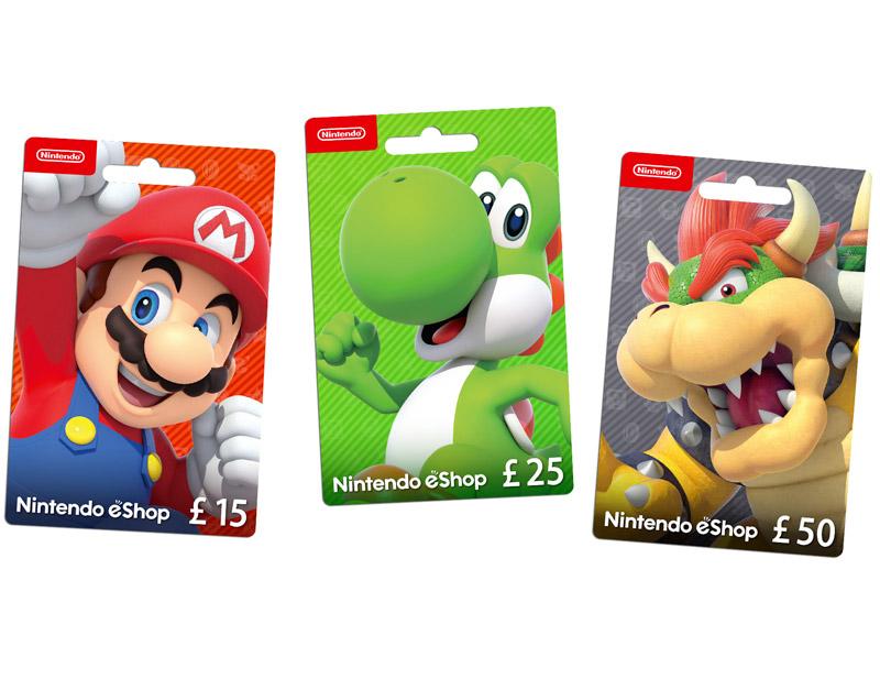 Nintendo eShop Gift Card, A Gaming Paradise, agamingparadise.com
