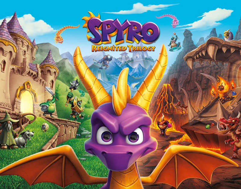 Spyro Reignited Trilogy (Xbox One), A Gaming Paradise, agamingparadise.com
