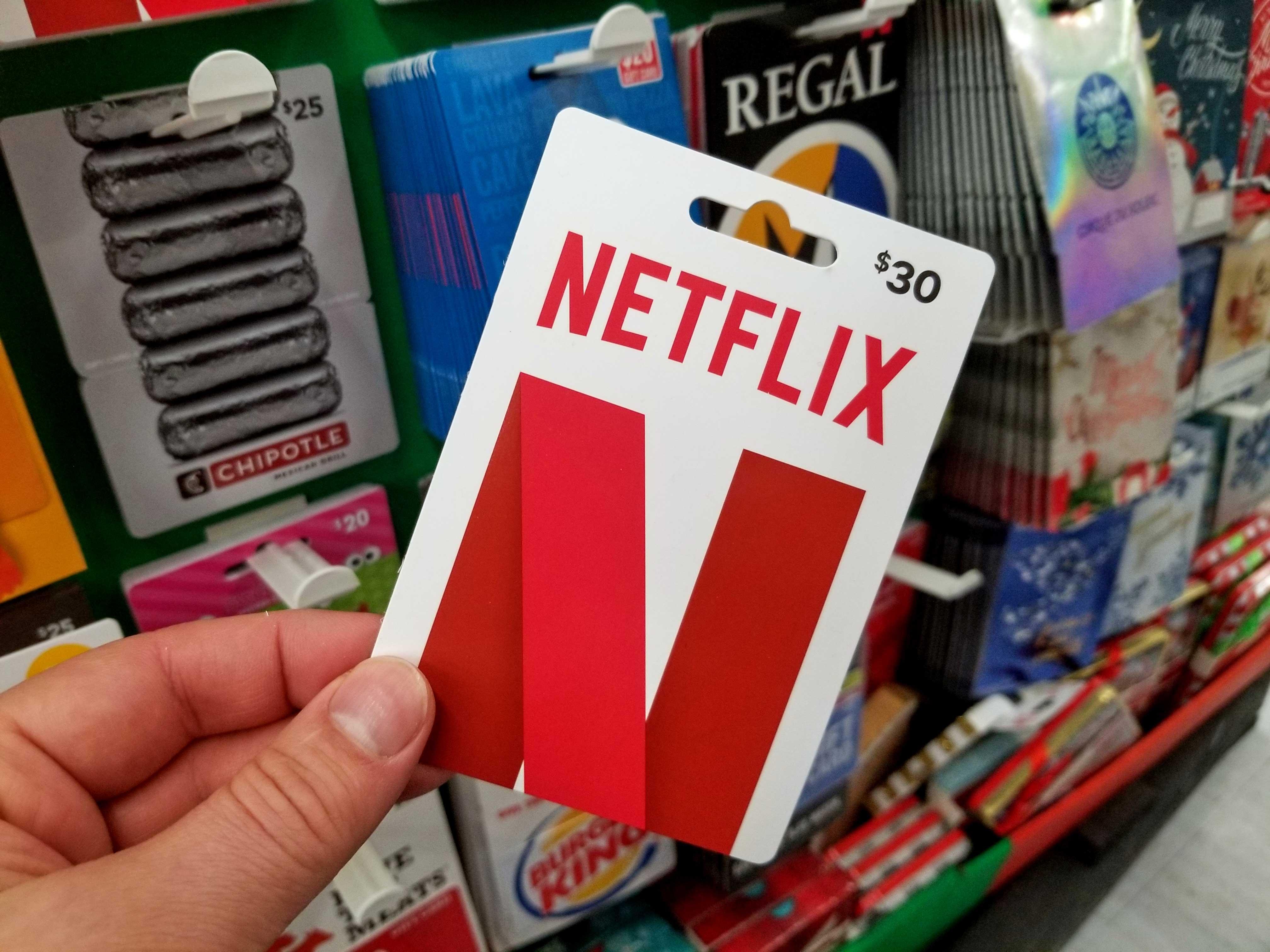netflix-gift-card, A Gaming Paradise, agamingparadise.com